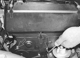 Замена прокладки головки блока цилиндров на автомобиле Лада Приора ВАЗ 2170